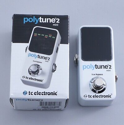 NEW! TC Electronic Polytune Mini 2 Pedal Tuner