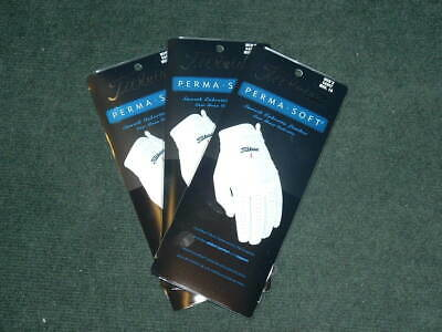 3-Pack Titleist Perma Soft Gloves!  Men's Left Hand (for Righty Golfers) Choose