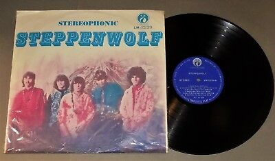 STEPPENWOLF self-titled debut 1968 Taiwan pressing Liming lp V-/V+ heavy psych