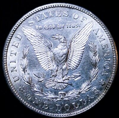 1921 D Morgan Silver  Dollar  * KEY DATE.  *  5742