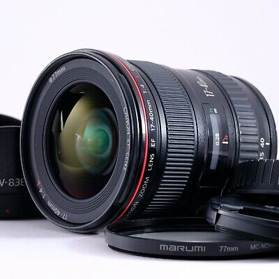 Canon EF 17-40mm f/4 L USM Lens Excellent Shipping from Japan