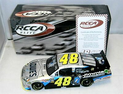 1:24 2011 Action Rcca #48 Lowes Jimmie Johnson Foundation Elite 1/200 Nib