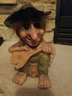 Nortroll Troll Hand Made in Norway 7 inches