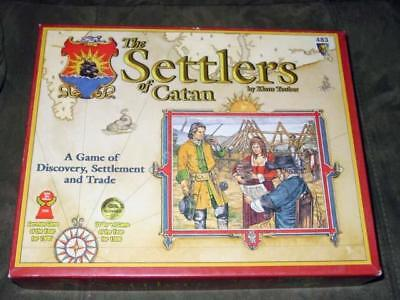 Mayfair Games - Settlers of Catan - Game of Discovery, Settlement & Trade +CARDS