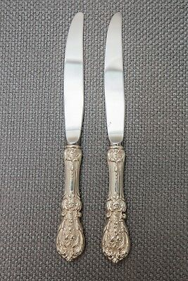 """Reed & Barton Francis I 1 Sterling Silver Modern Hollow Knife, 2 Knives – 9 1/4"""""""