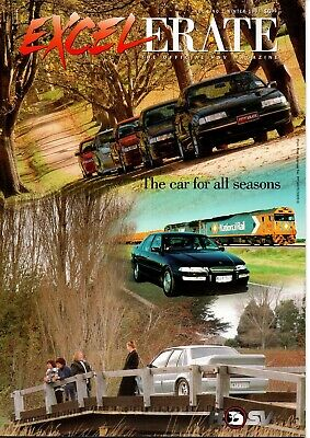 Holden HSV Excelerate Magazine Brochure VS cars  featured