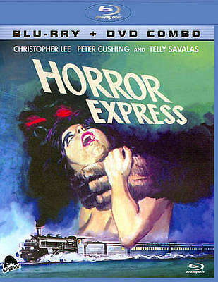 Horror Express (Blu-ray/DVD, 2011, 2-Disc Set) RARE OOP HTF SEVERIN FILMS