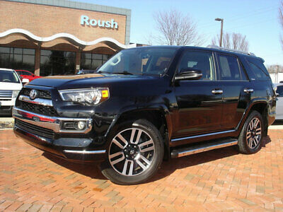2017 Toyota 4Runner Limited 4WD PARK ASSIST RADAR+BACKUP CAMERA+TOW PA+120 VOLT ON-BOARD POWER+MORE!