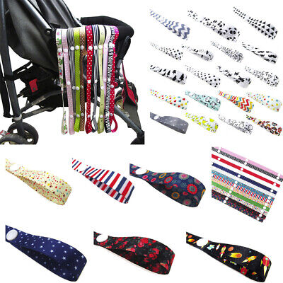 Baby Anti-Drop Hanger Belt Holder Toys Stroller Strap Fixed Car Pacifier Chain