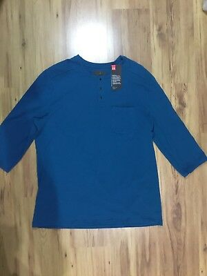 fadc448f UNDER ARMOUR MEN'S Unstoppable Knit 3/4 Utility Henley Shirt M ...