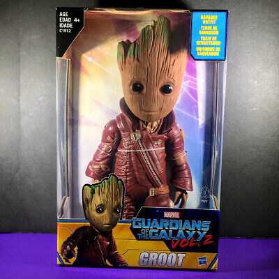 """Marvel Guardians of the Galaxy Vol 2 BABY GROOT 10"""" Ravager Figure NEW - Hasbro"""