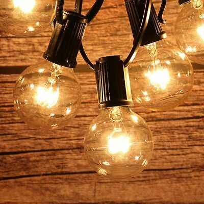 Festoon Party Wedding String Frosted Globe Lights Kit 7M Vintage Retro