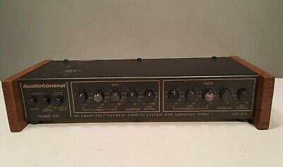 Audio Control Vintage Equalizer with Subsonic Octave Filter Model 520 B UNTESTED