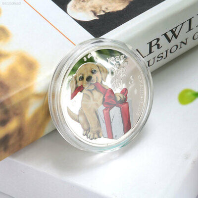 FD0D DOGE Art Collection Silver Commemorative Coin Gifts Australian Year Of Dog