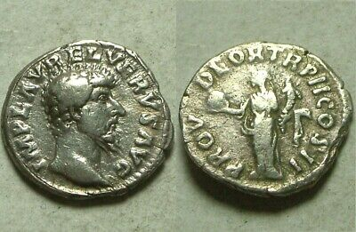 Rare original ancient coin Roman Empire Tiberius Denarius 37 AD tribute penny