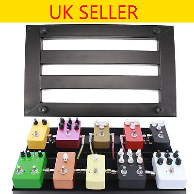 Alloy Pedalboards Effects Pedal Board Cases Electric Guitar + 10x Explant