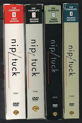 Nip/Tuck Complete Television (cable) Series Seasons 1-4 1,2,3,4