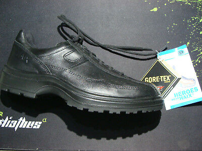 HAIX Airpower C7 Black Leather Police / Security Shoes >Sizes 5.5 • 6.5 FREESHIP