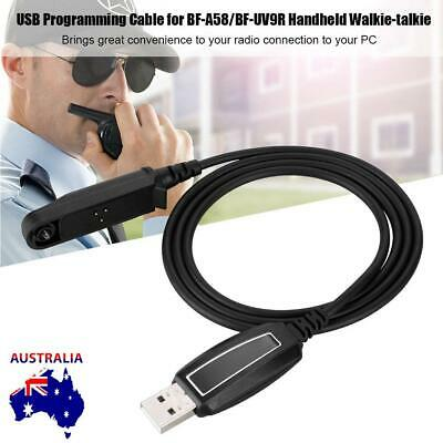 USB Programming Cable For Baofeng Radio Walkie Talkie UV-9R With Driver CD New