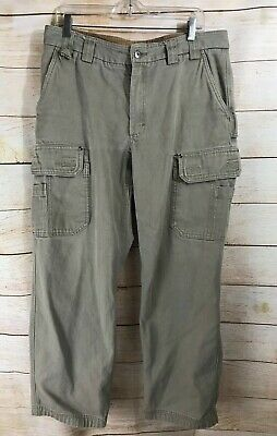 8e7efd9848c Men s Duluth Trading Flex Fire Hose Burly Cargo Work Pants 36 X 32