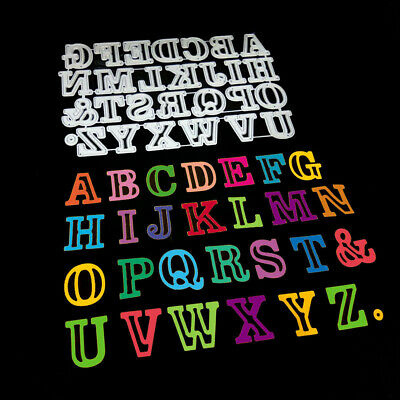 Large Alphabet 26 Letters Metal Cutting Dies Stencils for DIY Scrapbooking Craft