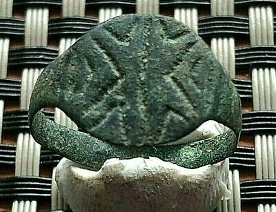 ANCIENT ROMAN BRONZE RING 2nd - 4th CENTURY AD VERY RARE