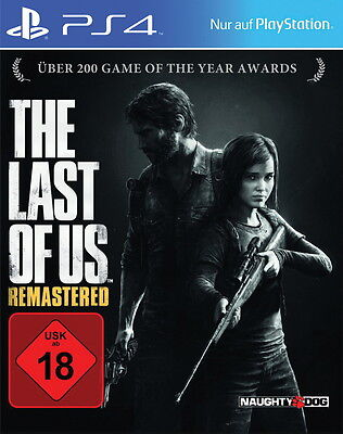 PS4 Spiel The Last Of Us -- Remastered (Sony PlayStation 4, 2014, DVD-Box)