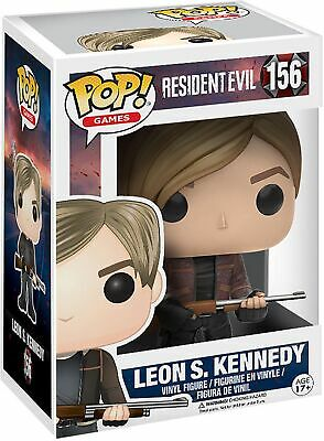 Funko Resident Evil Pop! Games Leon S. Kennedy Collectable Figure #156