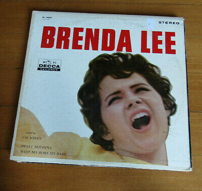 FREE 2for1 OFFER-Brenda Lee ‎– Brenda Lee Label: Decca ‎– DL 74039 Format: Vinyl