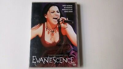 2 DVD lot   EVANESCENCE   LIVE IN GERMAY 2007 / WORLD STAGE   NEW & SEALED