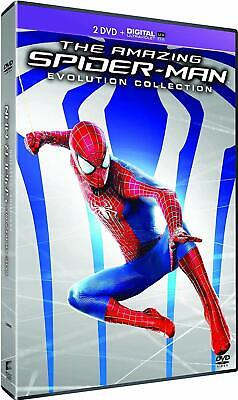 Pack 2 DVD Évolution Collection : The Amazing Spider-Man 1 & 2 - NEUF cellophané