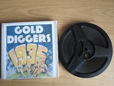 Super 8mm sound 1x400 GOLD DIGGERS OF 1935 Part 1. Busby Berkeley musical.