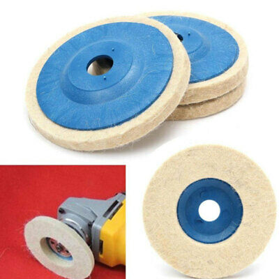 1x 4'' Polishing Wheel for Angle Grinder 100MM Grind Buffing Disc Pad Durable