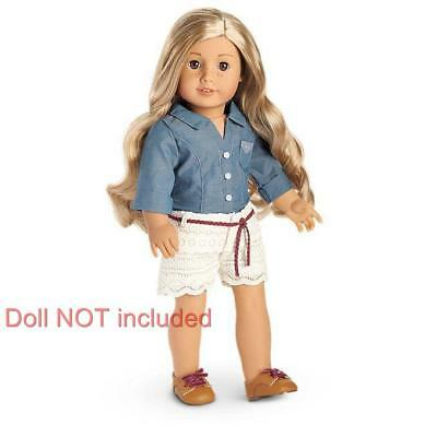 New American Girl Tenney's Picnic Outfit~Logan's Band Friend-Complete in AG Box