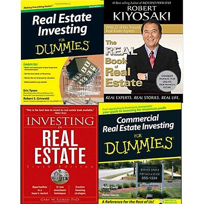 Real Estate Investing Guides: 4 Books For Dummies, Kiyosaki The Real Book PDFs