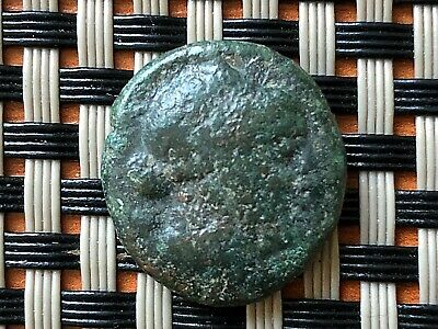"Thrace, Mesembria 200-100 Bc Ae20 ""athena"" Ancient Greek Bronze Coin"