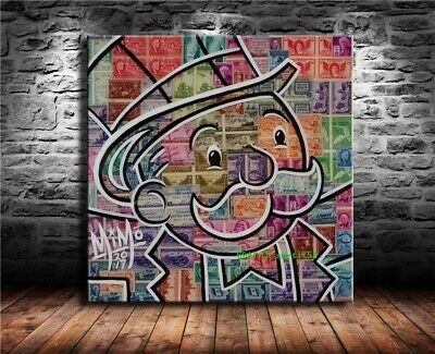 Alec Monopoly Canvas HD Prints Painting Wall Art Home Decor 16x16 inch #18