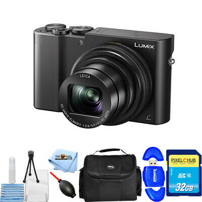 Panasonic Lumix DMC-ZS100 Digital Camera (Black) #DMC-ZS100K STARTER BUNDLE