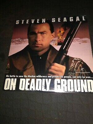 ON DEADLY GROUND (Laser Disc 1994) Steven Seagal - Brand New - Factory Sealed