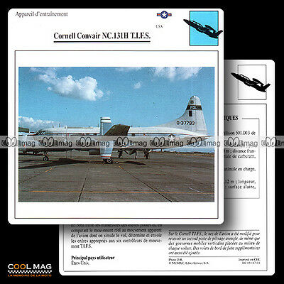 #067.03 CORNELL CONVAIR NC 131 H TIFS - Fiche Avion Airplane Card