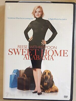 SWEET HOME ALABAMA Reese Witherspoon DVD PG13