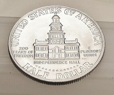 1976  S  Kennedy  Brilliant  Uncirculated   40%  Silver   #319  35  1.99  SHIP