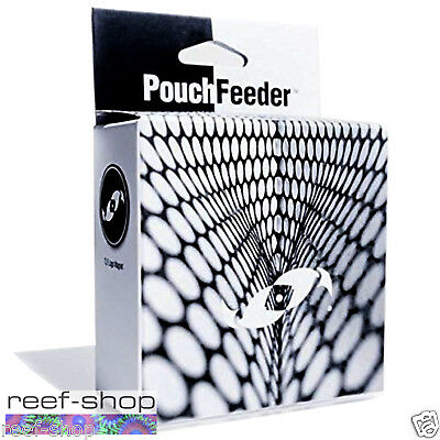 Two Little Fishies Pouch Feeder Grazing Fish Magnetic Feeding Grid FREE USA SHIP