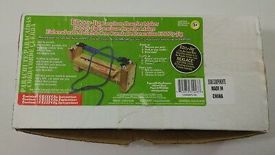 Ezzzy-Jig Parachute Paracord Bracelet Maker with Instructions 3 Sets of Clips