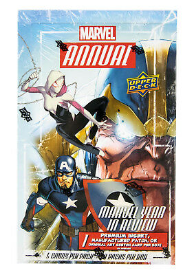 Marvel Annual Trading Cards Box (Upper Deck 2016) One Premium Insert PER BOX