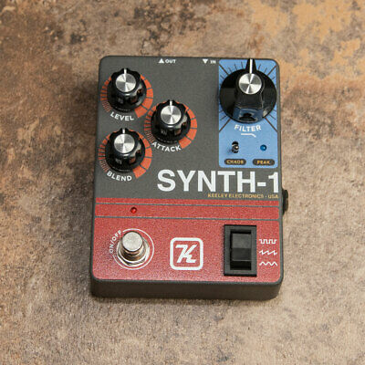 NEW Keeley Synth-1 Reverse Attack Fuzz Wave Generator - Authorized Keeley Dealer
