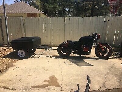 1982 Custom Built Motorcycles Bobber  Rat rod Goldwing and trailer bobber cafe racer antique vintage