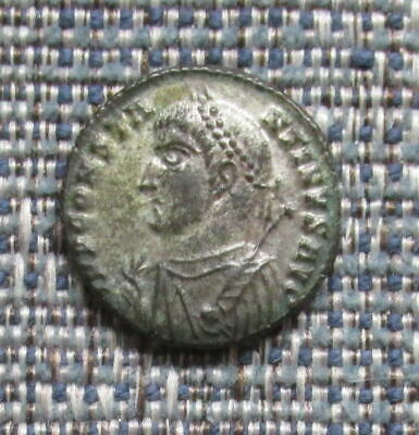 CONSTANTINE I  Roman AE3 with much original 'silvering'