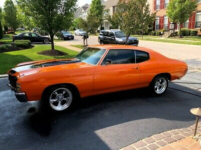 1972 Chevrolet Chevelle Chevelle 1972 Chevy Chevelle SS Clone Restored Sport Muscle Car Coupe