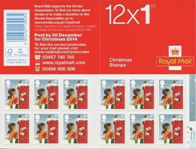 Royal Mail First Class Letter Stamps Book ( 12 Stamps ) Limited Edition